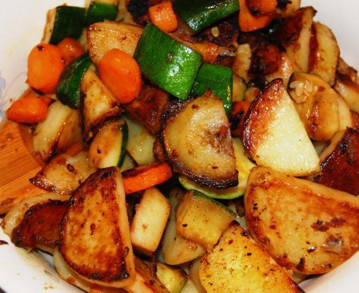 Жареная картошка с помидорами картинки