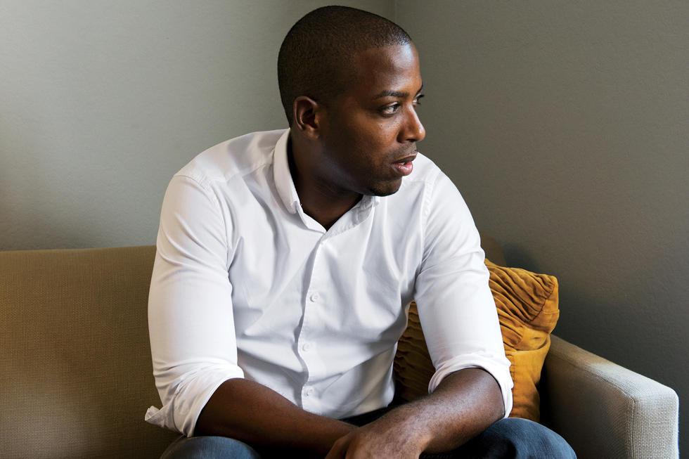 темнокожий мужчина