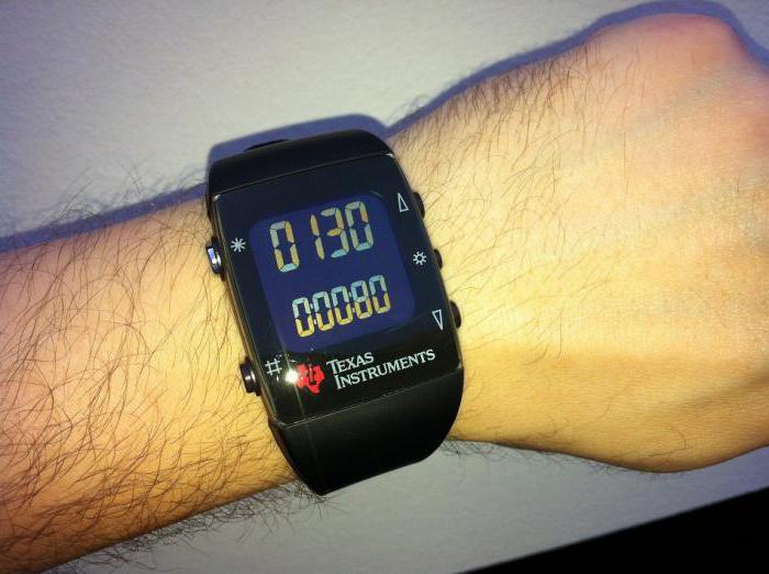 Обработанные программным обеспечением показатели датчиков выводятся на экран гаджета.