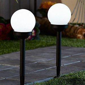садовые светильники шары на солнечных батареях