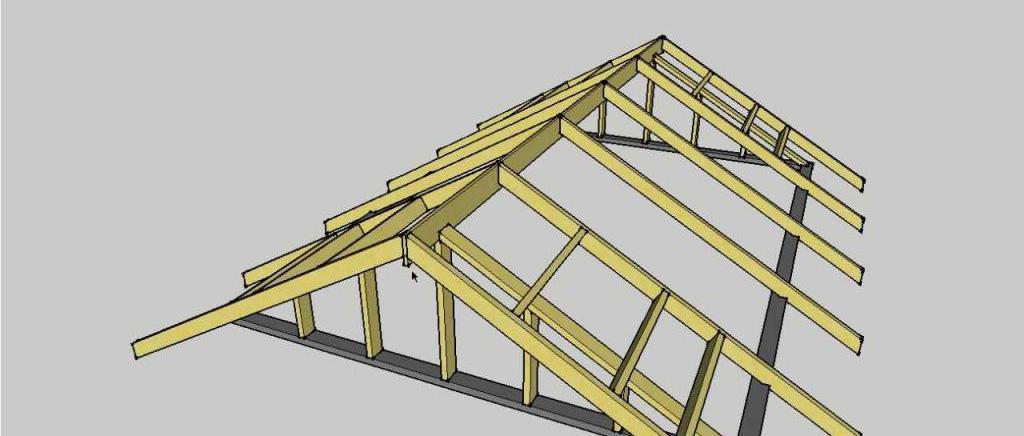 Roof for the veranda