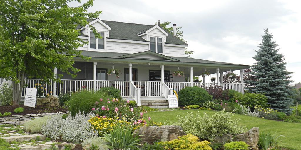 DIY veranda in the country