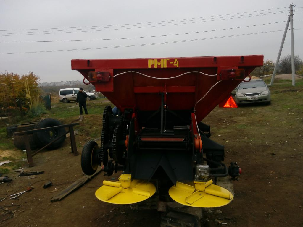 Машины для внесения твердых минеральных удобрений