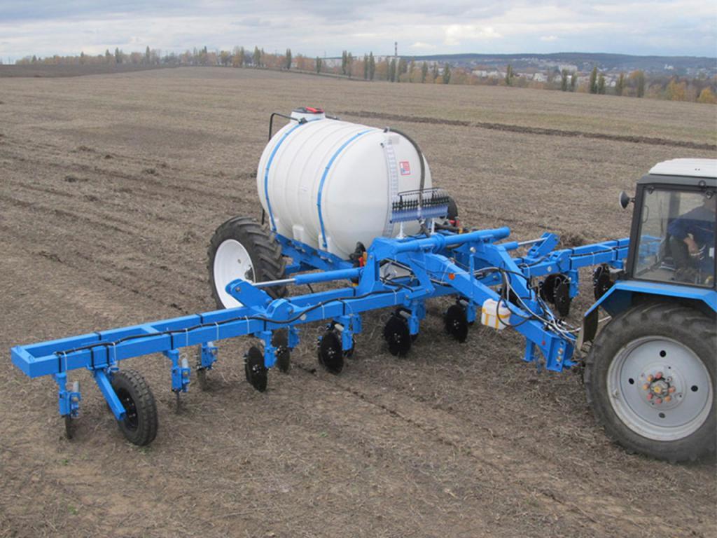 Машины для внесения жидких минеральных удобрений