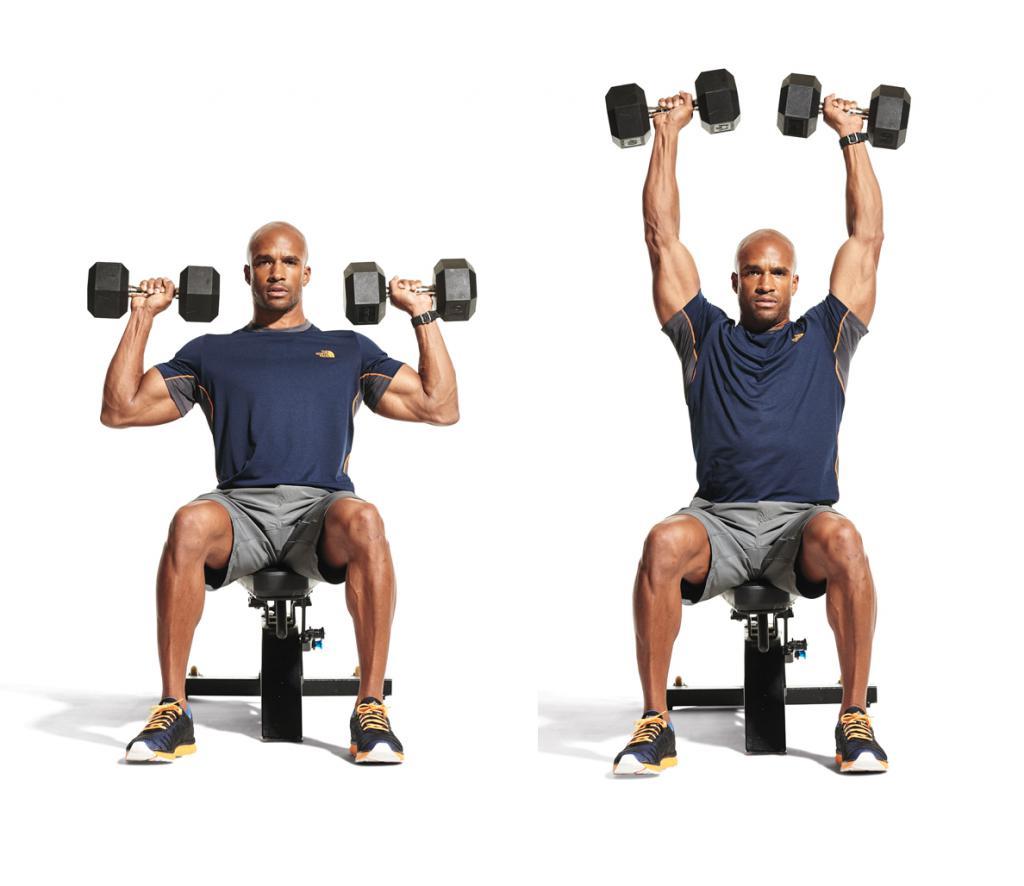 Лучшие упражнения для плеч в домашних условиях