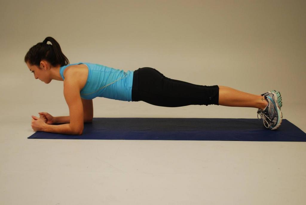 Стойка Планка Для Похудения. Упражнение планка для начинающих – правила и график выполнения