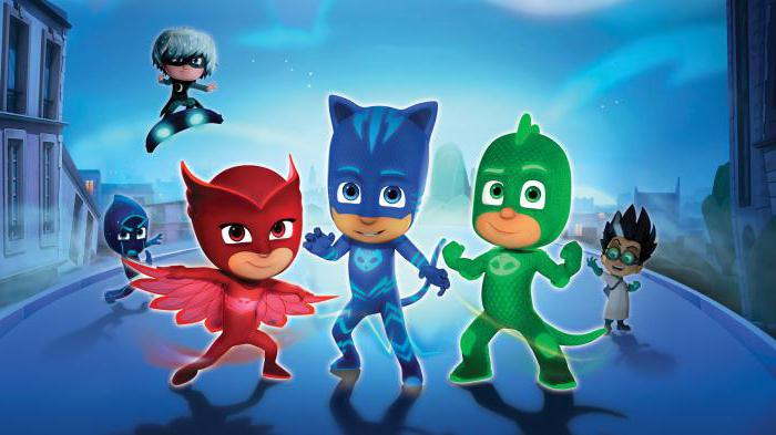герои в масках мультсериал акетры