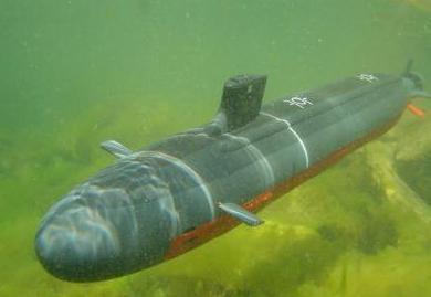 подводная лодка руками детей