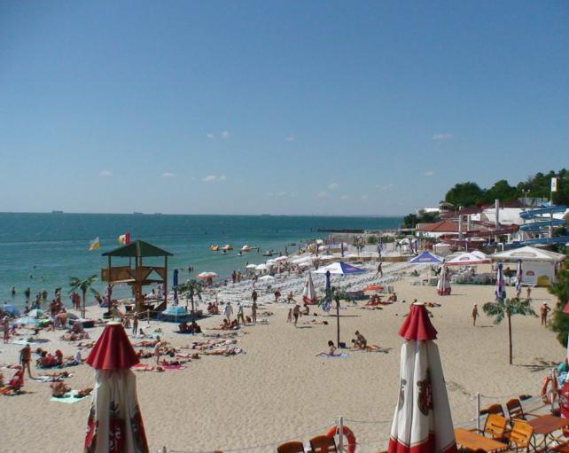 пляж аркадия одесса на карте