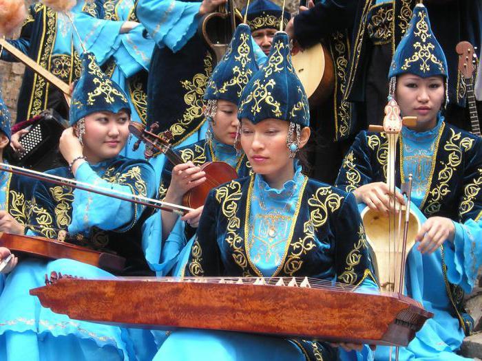 казахский национальный костюм фото для девочек