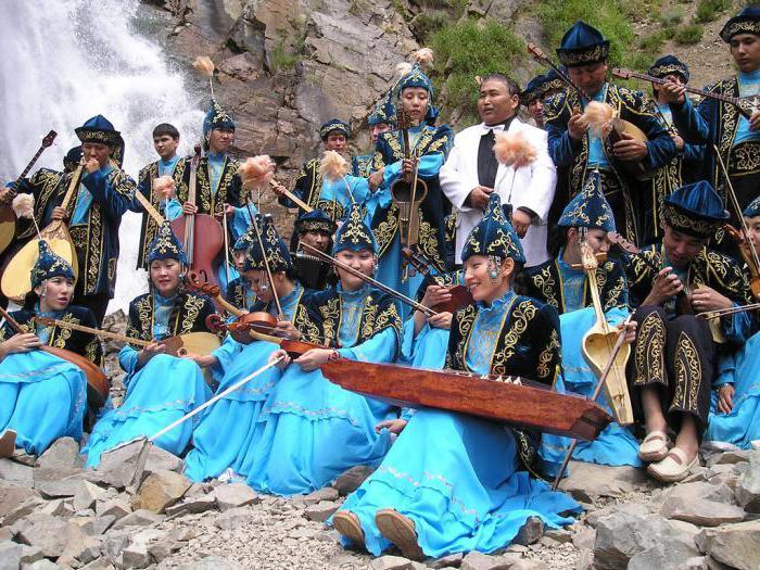 казахский национальный костюм для девушек фото