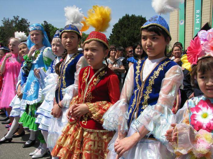 казахский национальный костюм фото женский