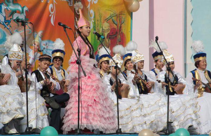 казахски национальный костюм
