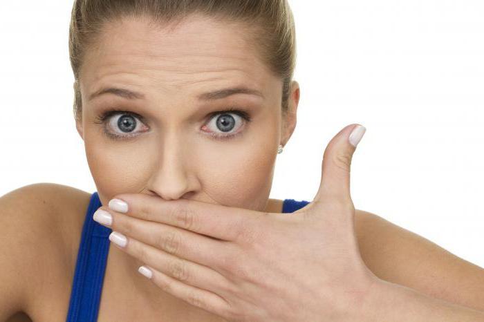 чем перебить запах алкоголя изо рта