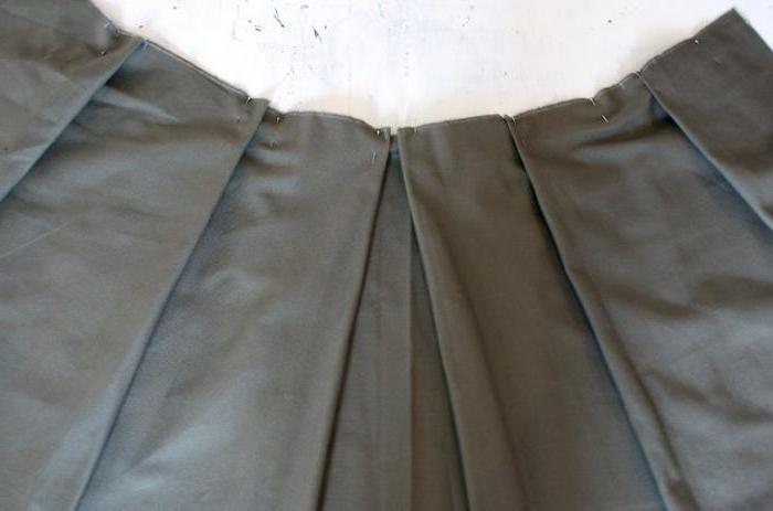 Пояс для юбки полусолнце выкройка