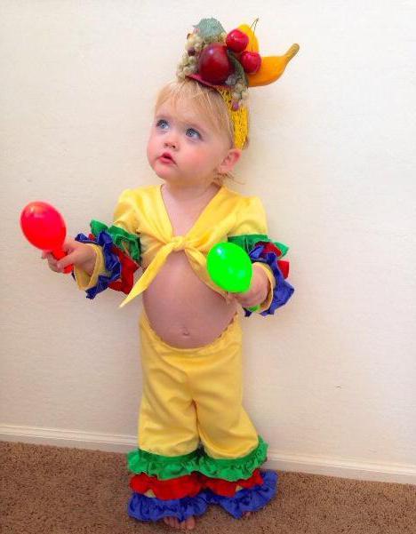 Детский бразильский костюм