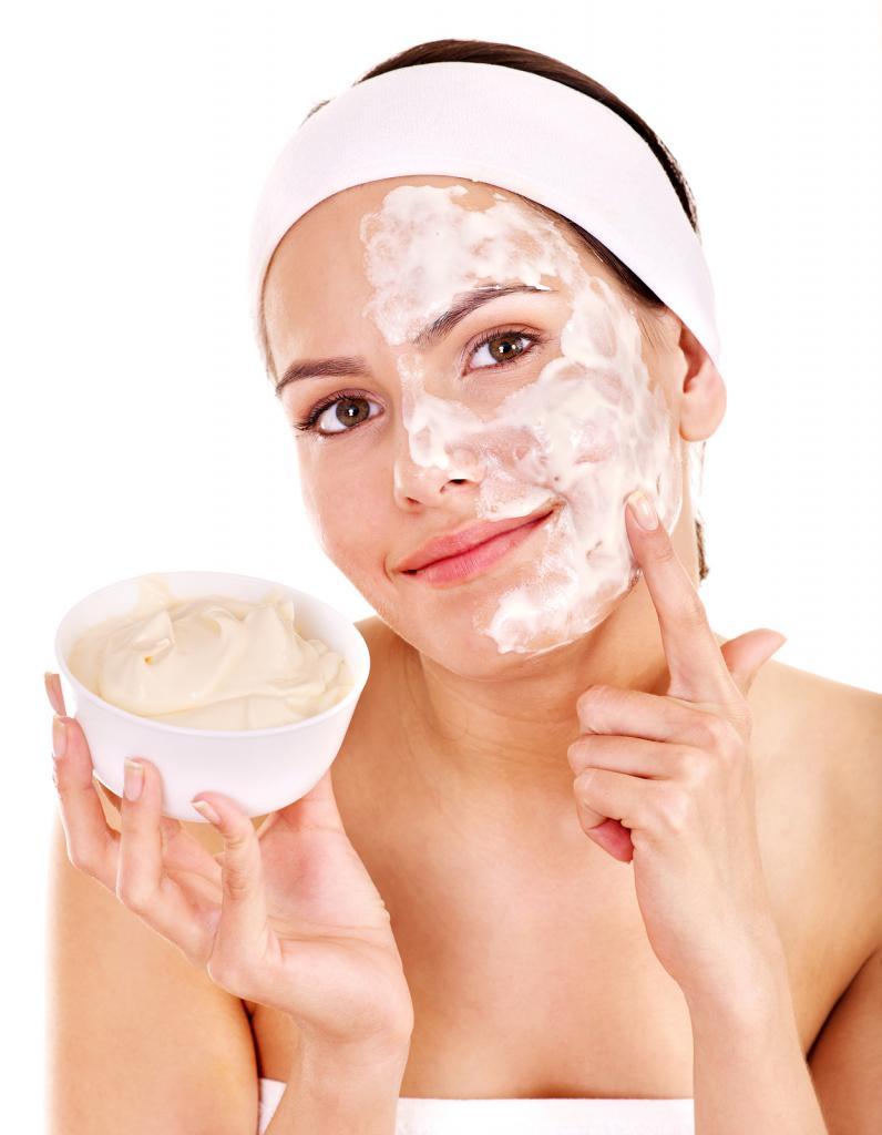 Acne Kefir Face Mask