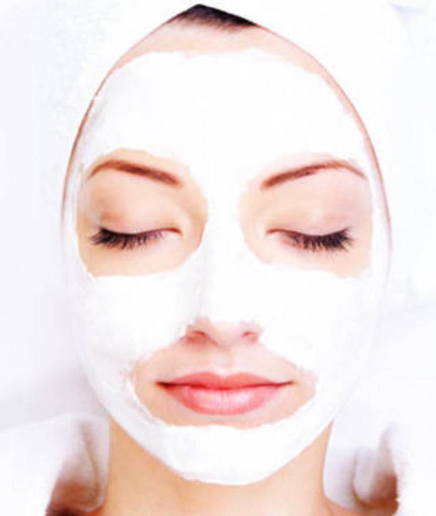 Kefir mask how to do