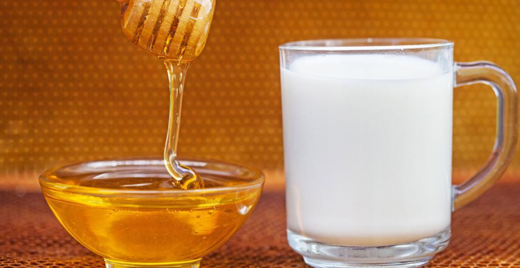 Face mask honey milk