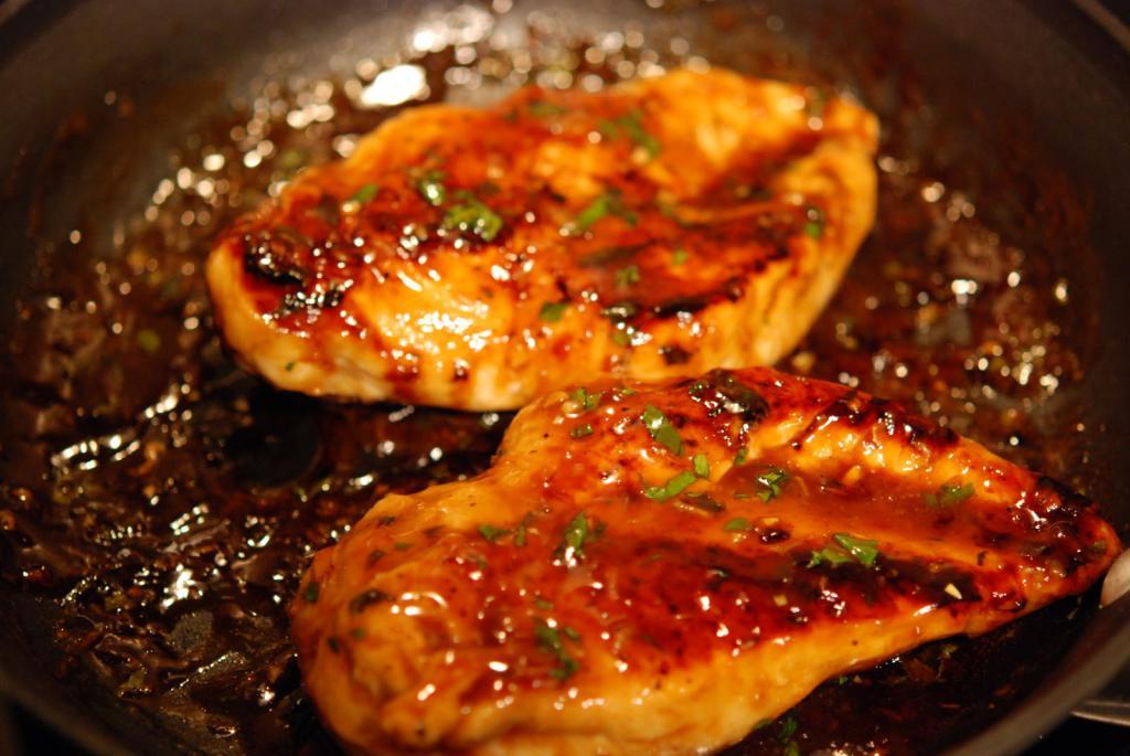 Диета на курице и соевом соусе