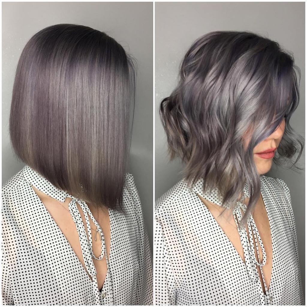 Стрижка удлиненное каре на средние волосы