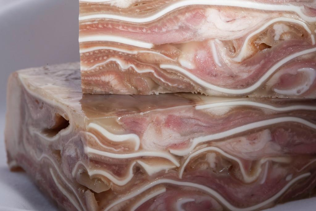 рулет из свиных ушей с фото двадцать первый век