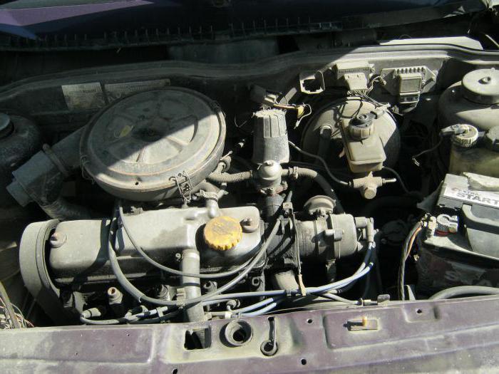 ВАЗ-21083, двигатель: технические характеристики
