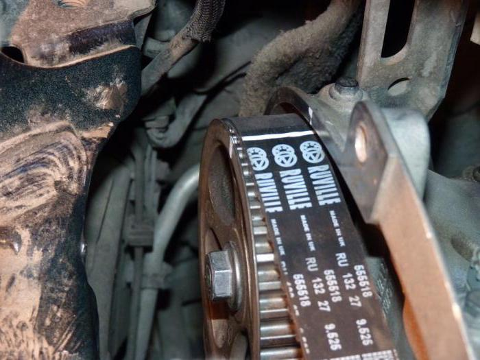 Замена ремня ГРМ Renault Megane с двигателем 1 6 16