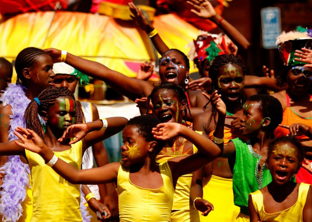 Как отмечают новый год в африке фото
