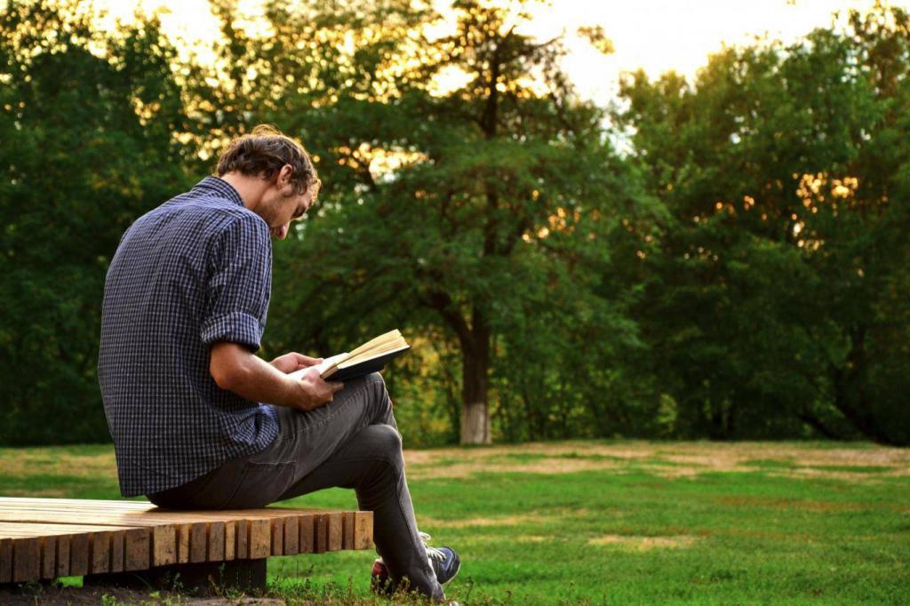 фото читающих людей палетка для