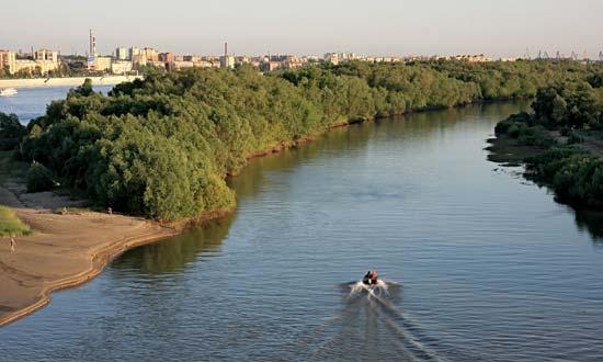 Иртыш в Казахстане