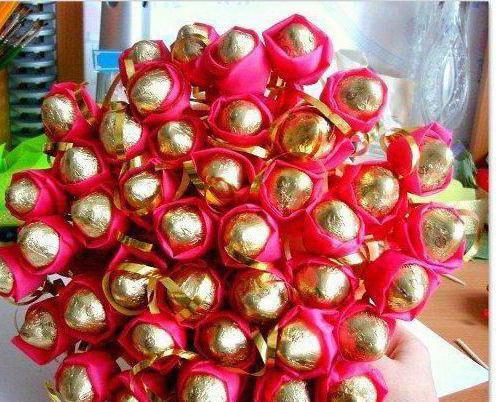 Букет из конфет осенний вальс своими рукам фото 208