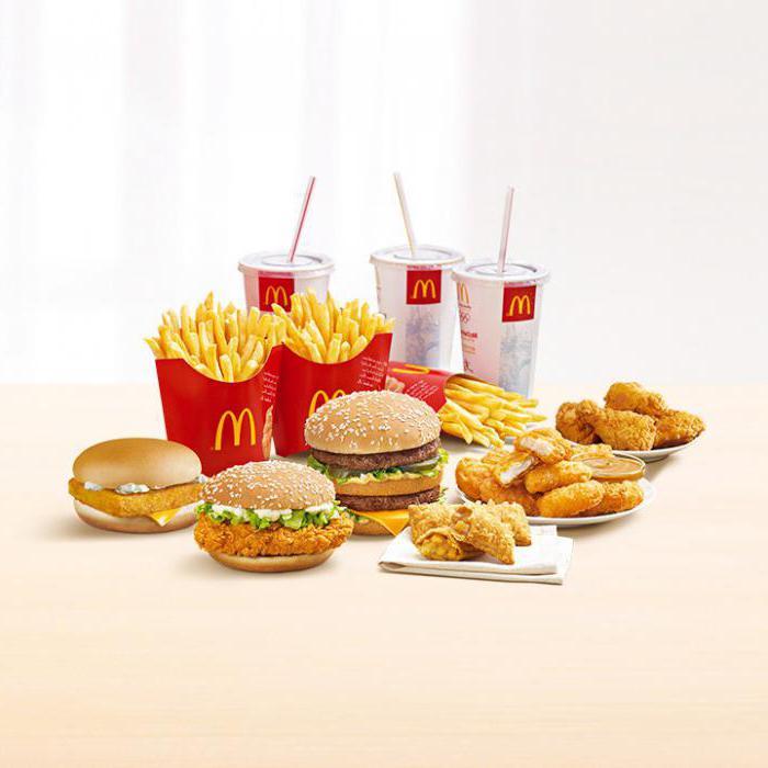 главный вся еда в макдональдсе картинками заметил что-то красное