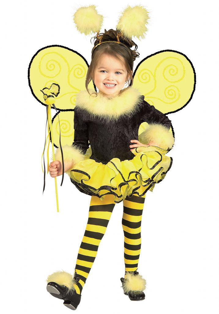 желто-черный костюм пчелы
