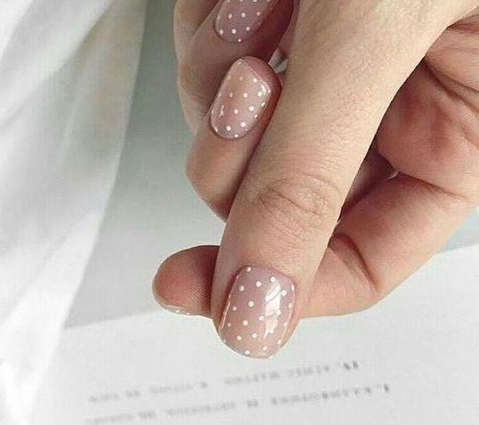 soft manicure photo