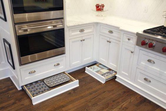 Speicherorganisation in der Küche