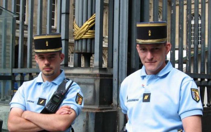 национальная жандармерия франции