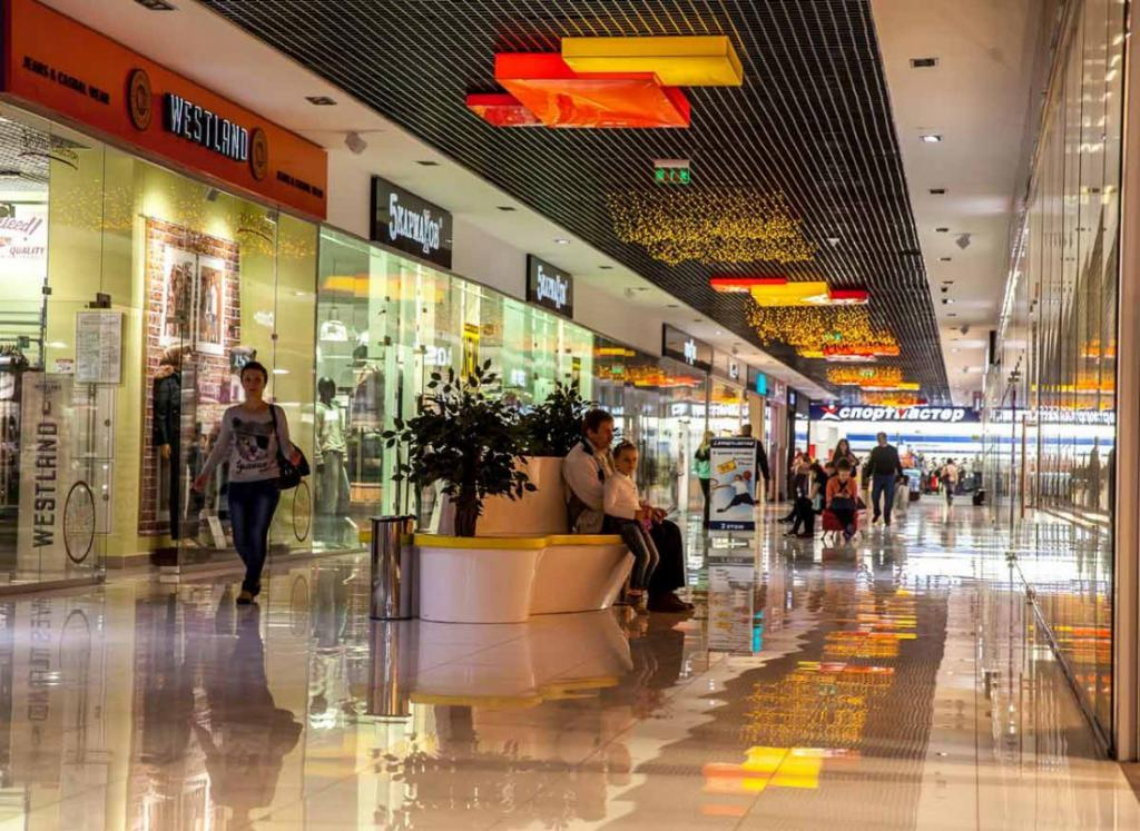 Shops in the shopping center Marmalade in Taganrog