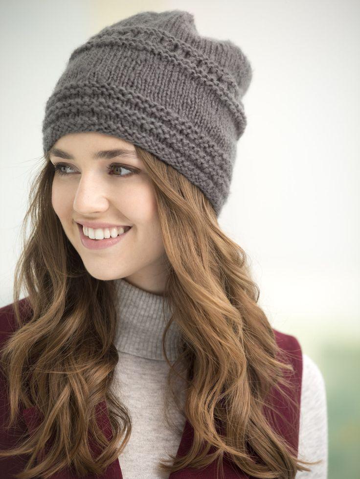 Вязаные шапки 2018-2018 со схемами спицами девочке с описанием и фото