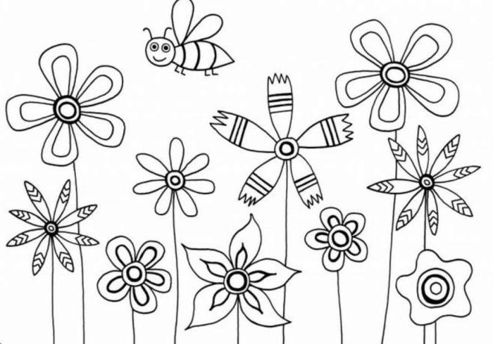 Цветик-семицветик карандашом