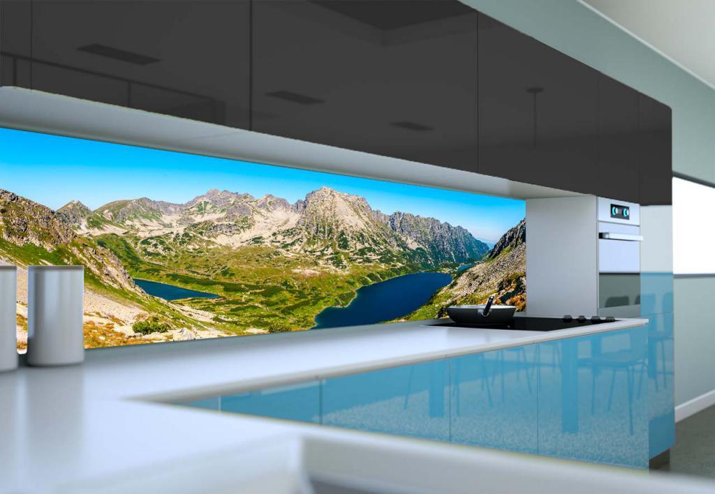 настенная панель для кухни с фотопечатью фото получила свое