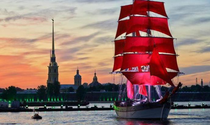 """Алые паруса"" Санкт-Петербург, фото"