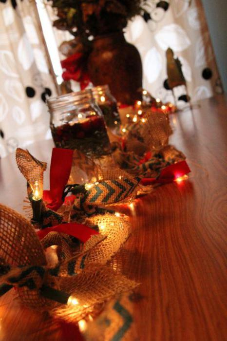 рождественские украшения для дома