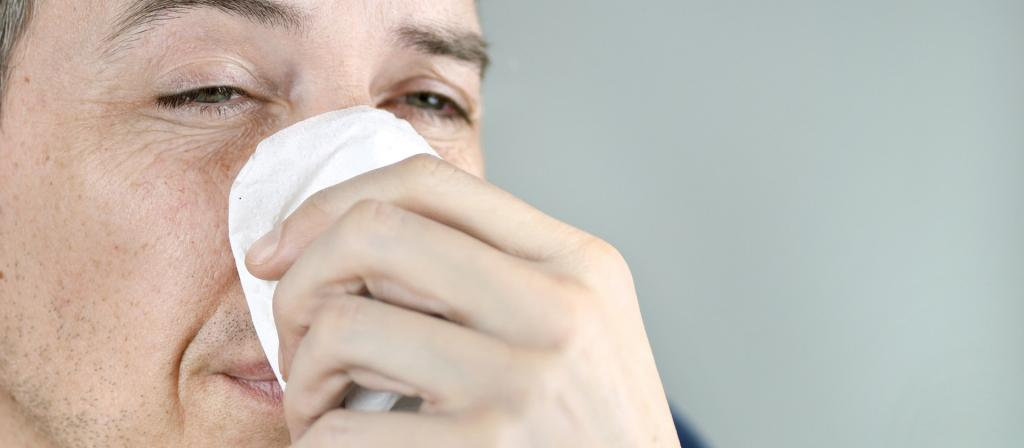 Незаживающая рана на носу