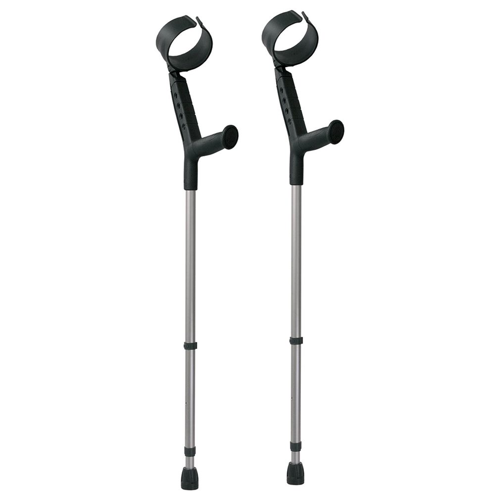 how to choose a crutch under the elbow