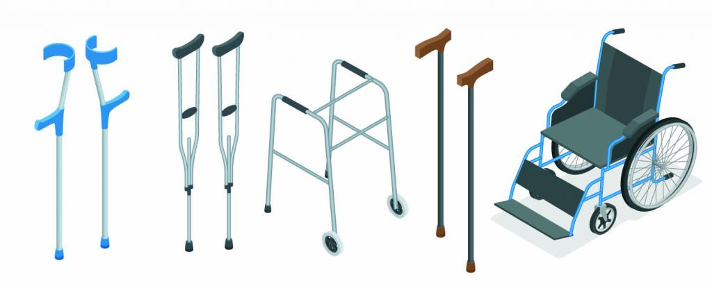 pick up shoulder crutches in height