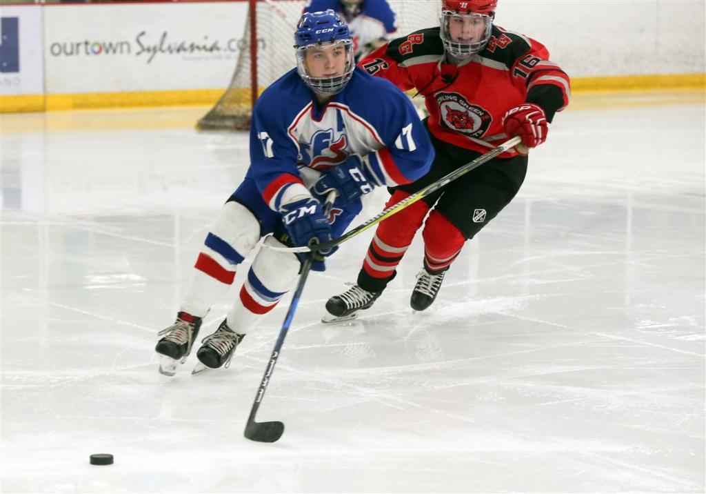 хоккейная тренировка детей
