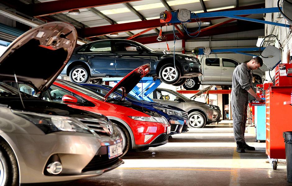 работы по текущему ремонту автомобиля