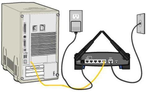 Как подключить интернет через кабель