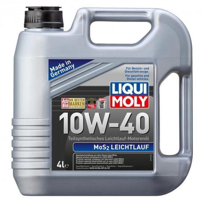 Масло Ликви Моли 10w 40 полусинтетика отзывы